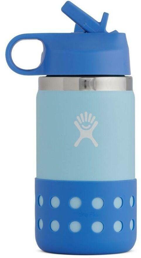 Butelka termiczna kubek dla dziecka 355 ml Wide Mouth straw lid Hydro Flask - ice