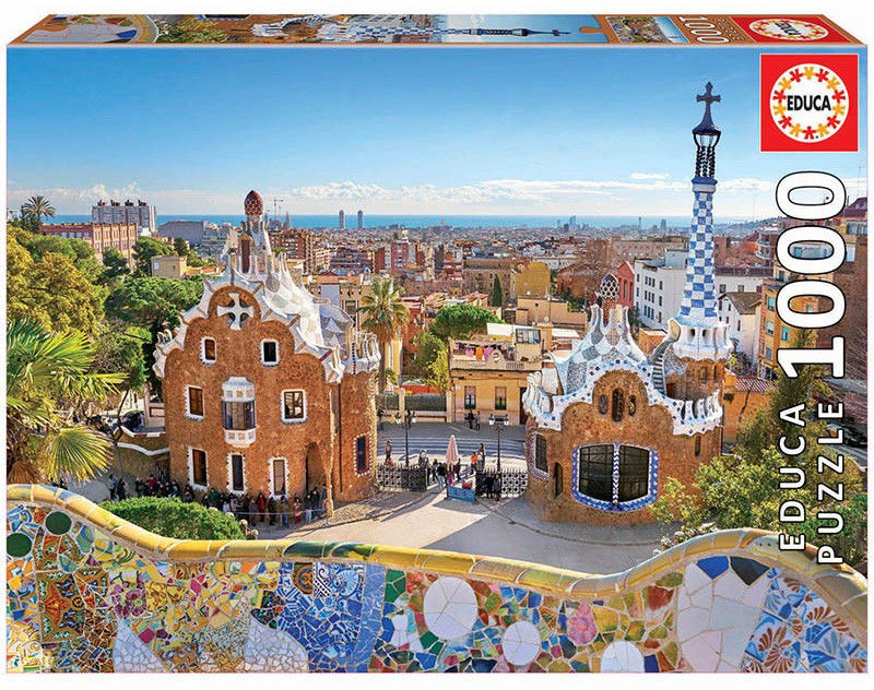 Educa Puzzle Barcelona Widok z Parku Guell 1000 el. 17966