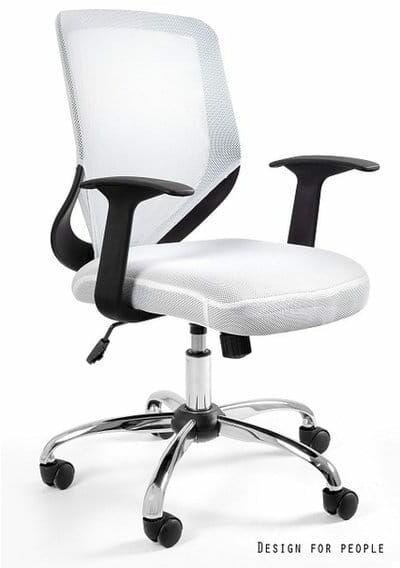 Fotel Biurowy Unique MOBI biały
