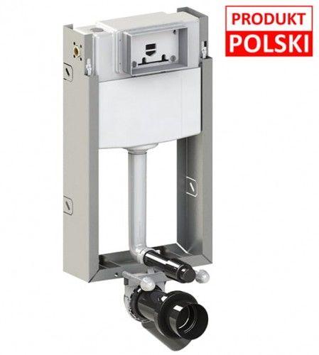 Stelaż podtynkowy WC - ciężka zabudowa 18/23, 10 lat gwarancji Polska produkcja