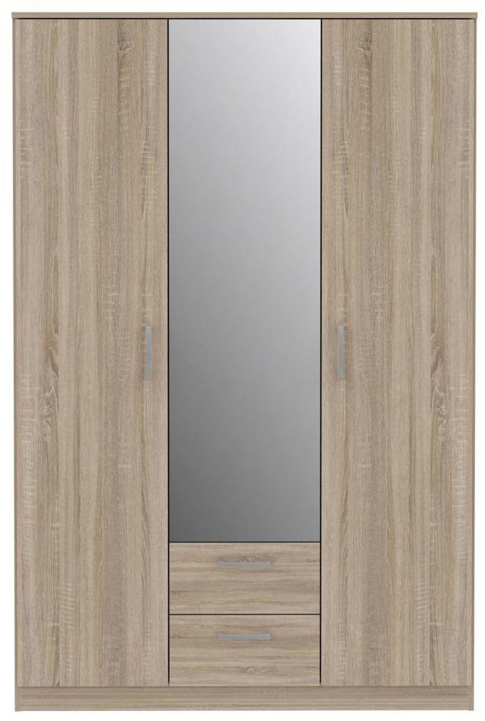 Szafa ubraniowa NIKO NIKS82 123 x 183 x 53 cm FORTE