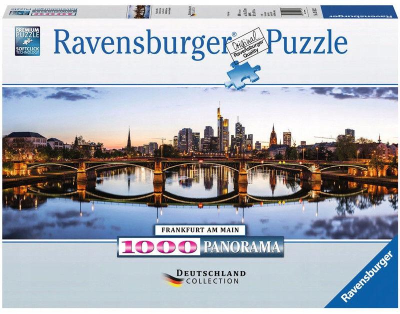 Ravensburger - Puzzle Franfurt panorama 1000 elem. 151622