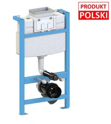 Stelaż podtynkowy WC - niski 51cm, 89-106cm, 10 lat gwarancji Polska produkcja