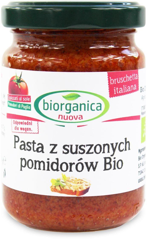 Pasta z suszonych pomidorów bio 140 g - bio organica italia (biorganica nuova)
