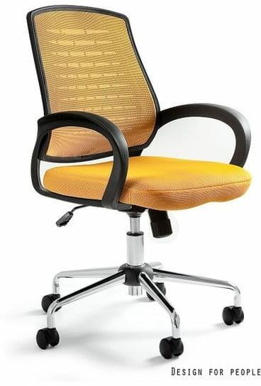 Fotel Biurowy Unique AWARD żółty