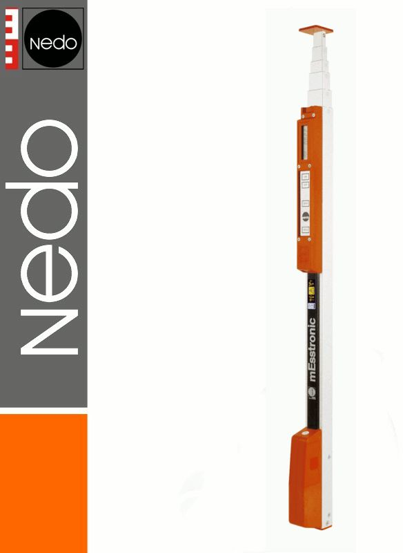 Przymiar teleskopowy elektroniczny 1,04-5,00m mEsstronic Easy NEDO