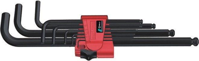 komplet kluczy trzpieniowych do śrub imbusowych metryczny 1,5-10mm, Wera [05022086001]