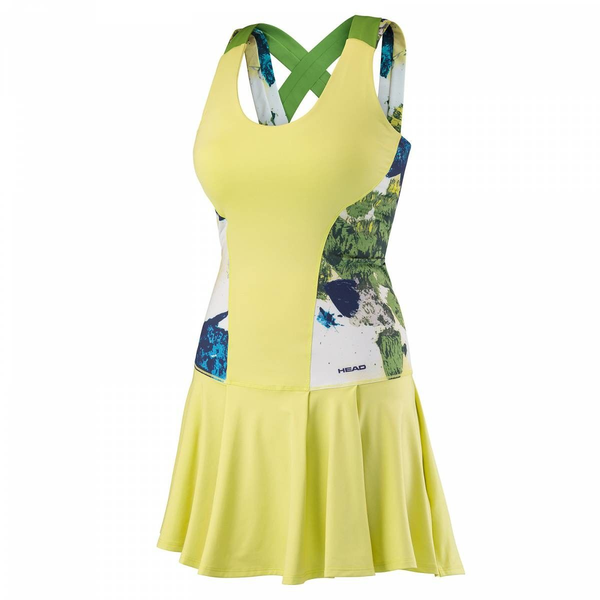 Head Vision Graphic Dress G - celery green
