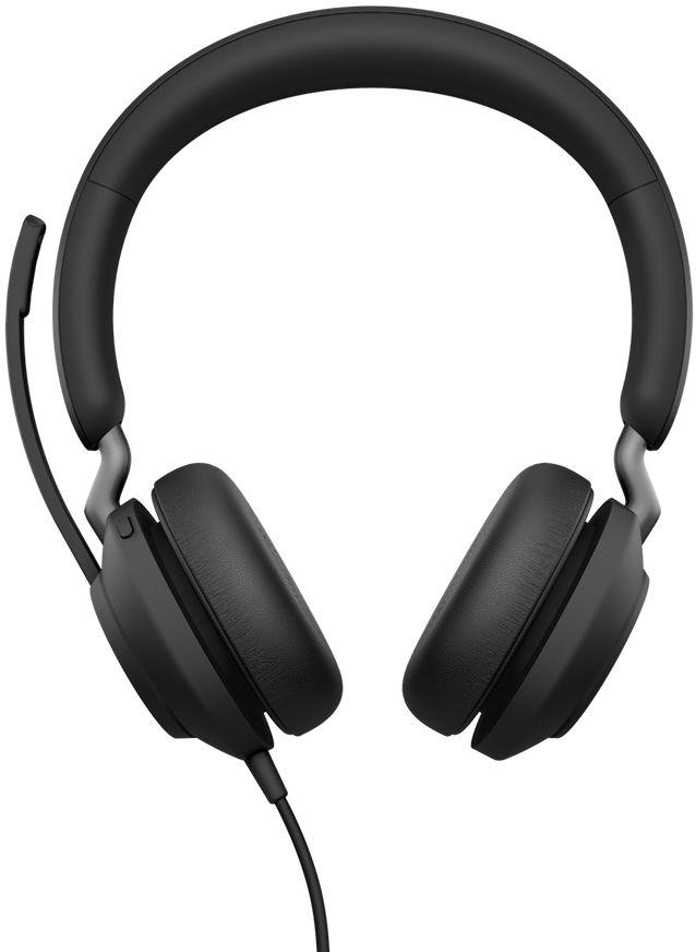 Jabra Evolve2 40, UC Stereo Zestaw słuchawkowy Opaska na głowę USB
