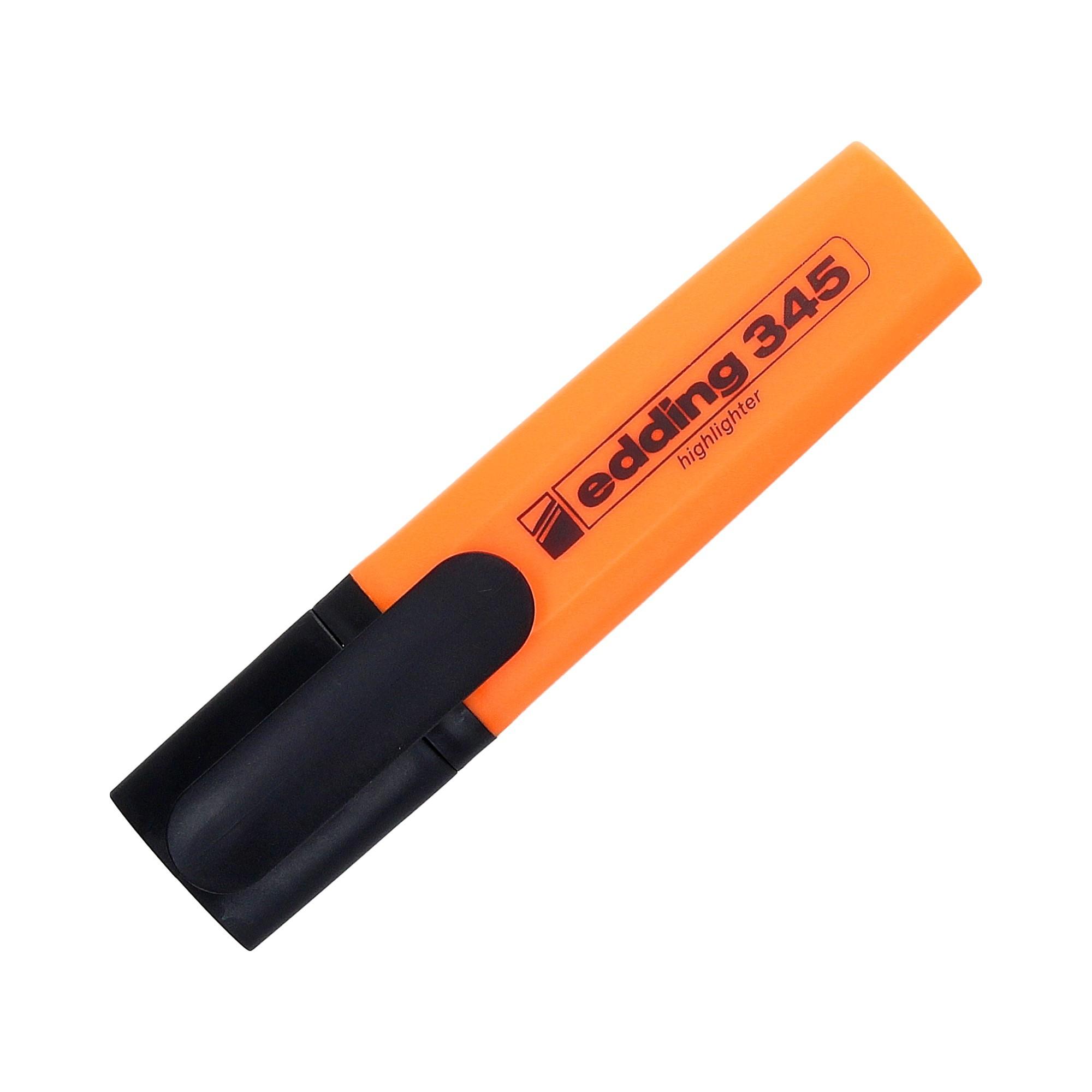 Zakreślacz pomarańczowy Edding 345