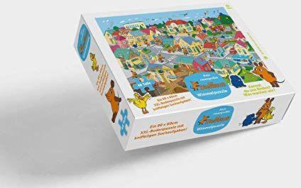 Puzzle z myszą: XXL - puzzle podłogowe z 48 dużymi częściami od 3 lat - Moja ogromna przesyłka puzzle z myszą
