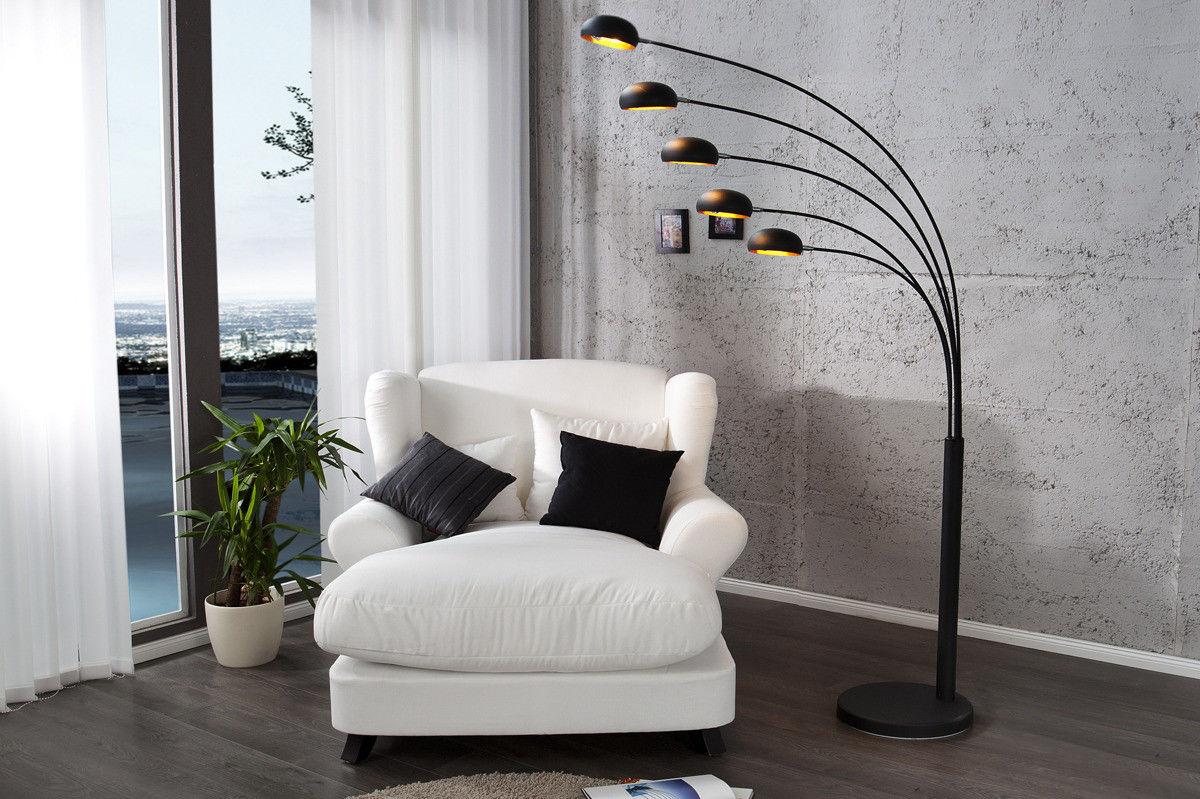 Lampa podłogowa Lighting czarna