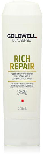 Goldwell Goldwell Rich Repair - Odżywka regenerująca 200 Odżywka regenerująca do włosów suchych i zniszczonych zapobiegająca łamaniu się włosów 200 ml
