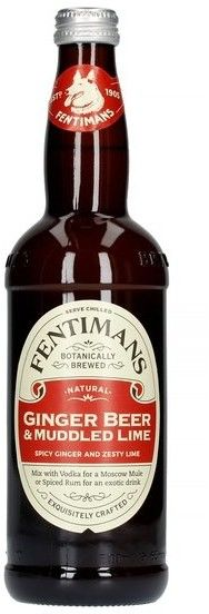 Fentimans Ginger Beer & Muddled Lime - Napój 500 ml