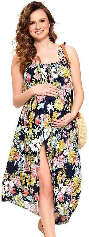 Sukienka ciążowa Leona w kwiatyonesize