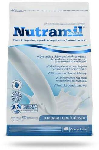 Nutramil Complex preparat odżywczy o smaku neutralnym 720 g