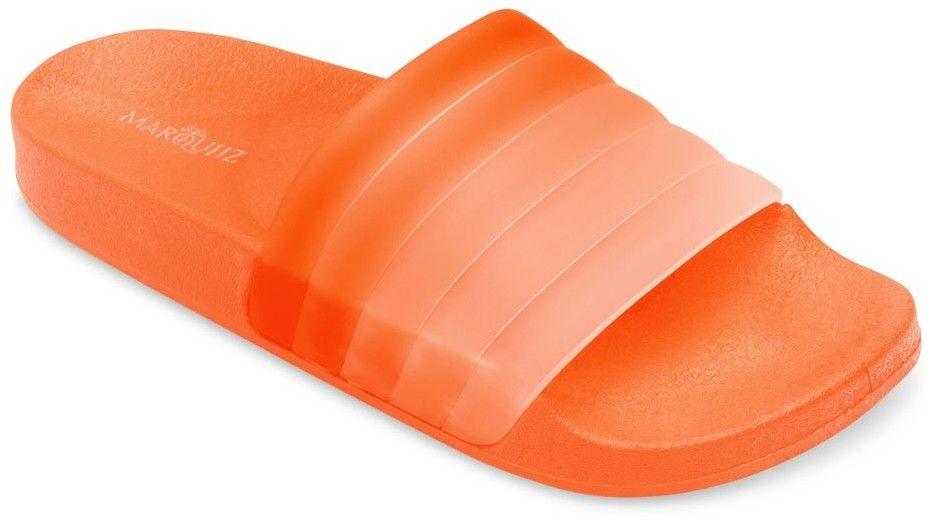 Klapki damskie Marquiiz K-9183 Pomarańczowe