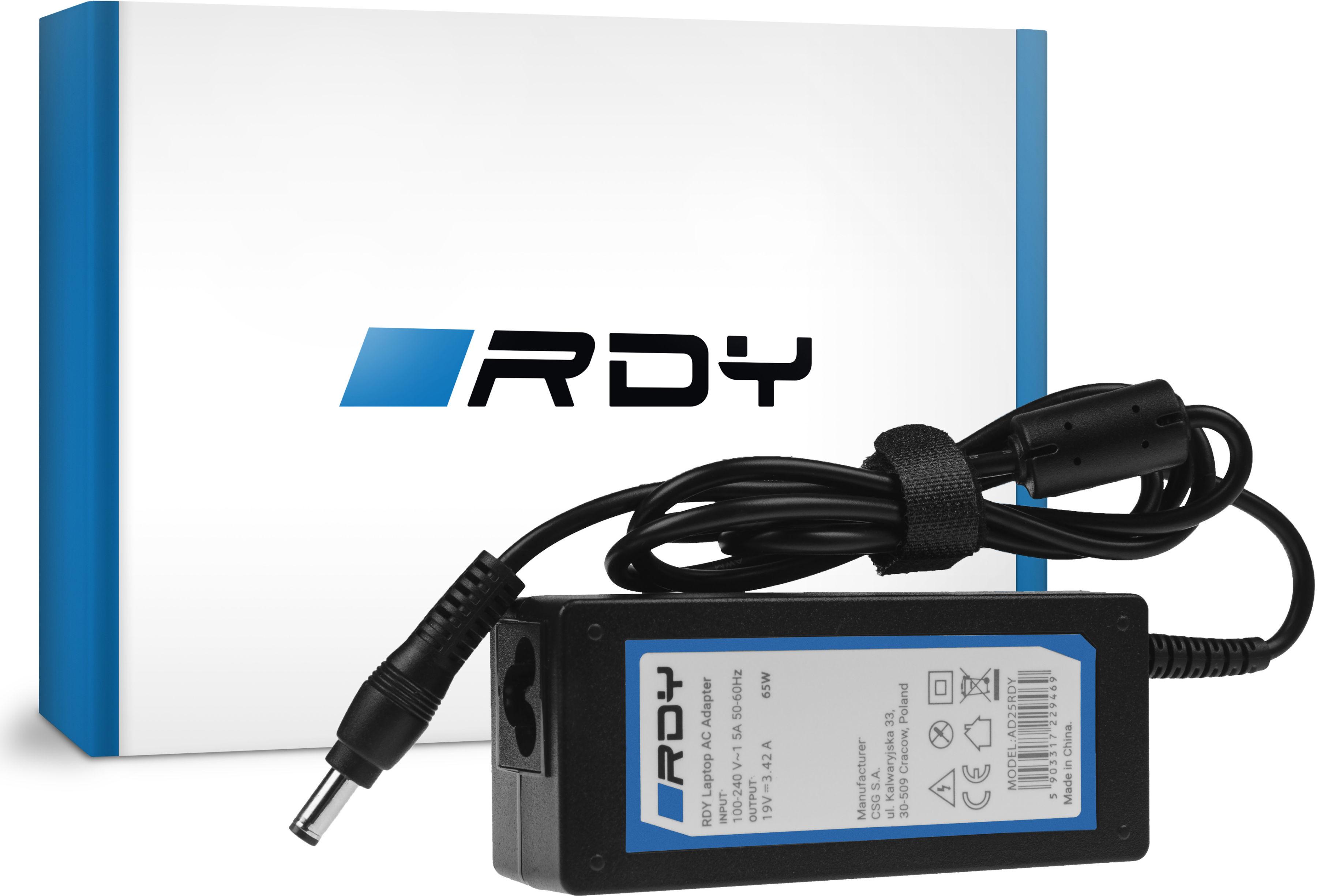 Zasilacz Ładowarka RDY 19V 3.42A 65W do bezprzewodowego głośnika Bluetooth JBL Xtreme 1 Xtreme 2