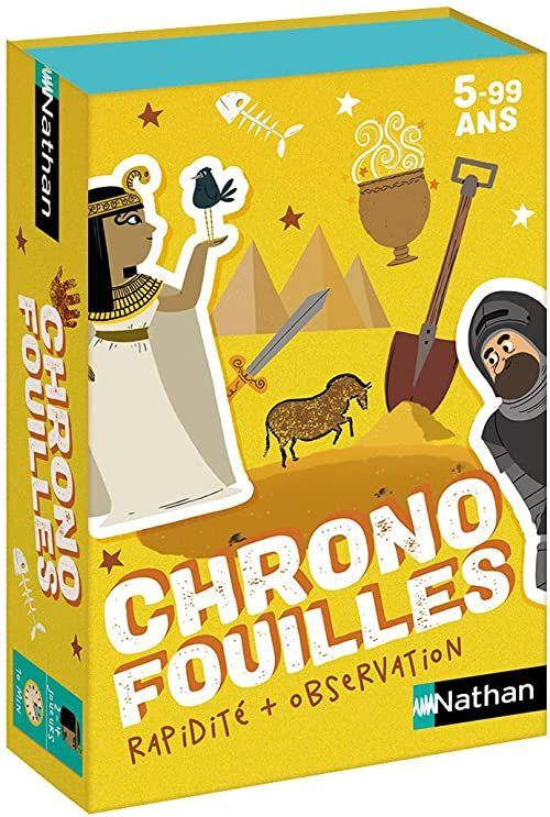 Chronofouilles  gra karciana dla dzieci od 5 lat.
