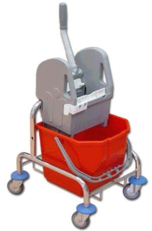 EURO wózek do sprzątania 15 l lub 25 l, wyciskarka