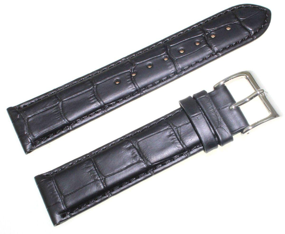 Pasek do zegarka Atlantic 21 mm czarny