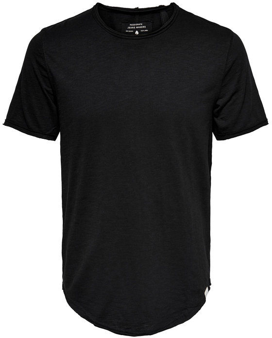 Only & Sons T-Shirt Benne 22017822 Czarny Regular Fit