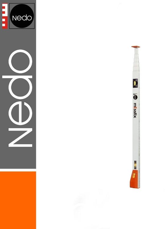 Przymiar teleskopowy podział mm/cale 0,53-2,00m mEssfix NEDO