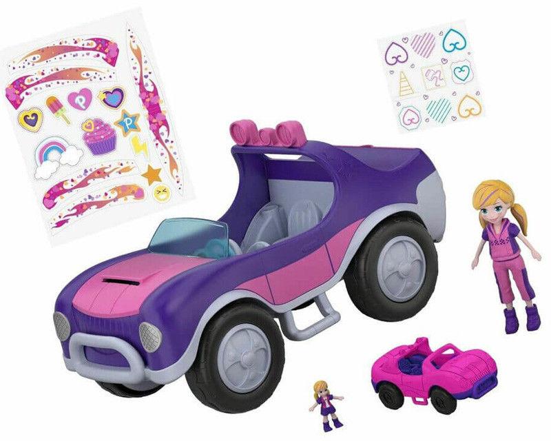 Polly Pocket - Przygodowy pojazd Polly FWY26