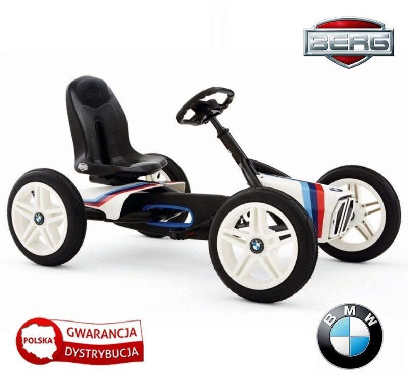 BERG Gokart na pedały BMW Street Racer Pompowane koła 3-8 lat do 50 kg