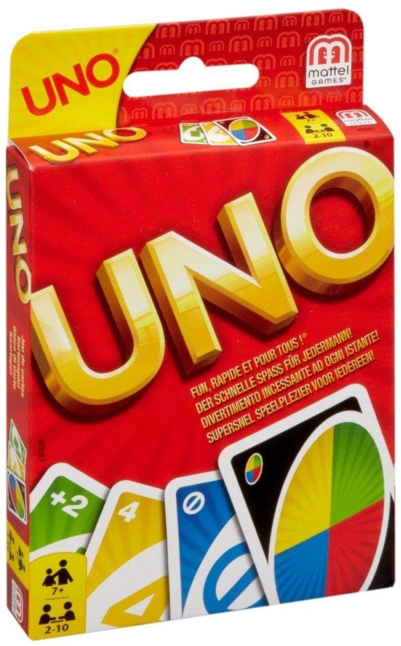 Mattel - Karty Uno W2085