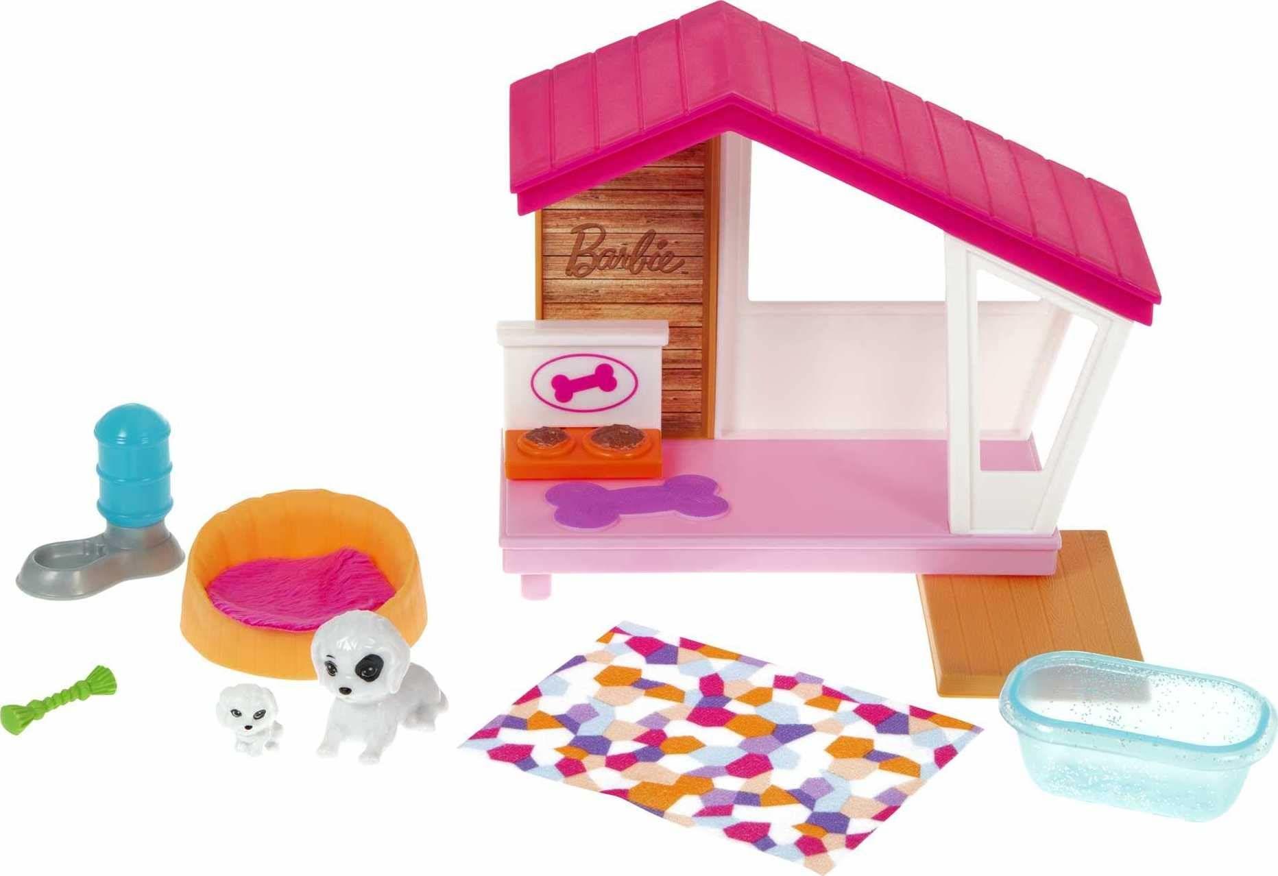 Barbie GRG78 domek dla psów