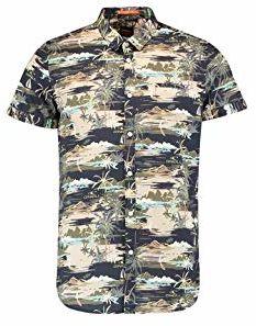 O''Neill LM Angora S/SLV T-Shirt, krótki rękaw dla mężczyzn, niebieski (skala), S