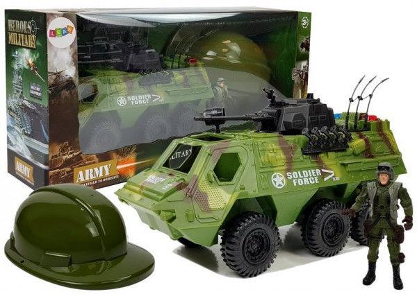 Zestaw Wojsko Pojazd Militarny Moro Kask Żołnierz