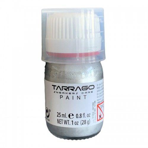 Farba do Skór efekt Aluminium Tarrago 25ml