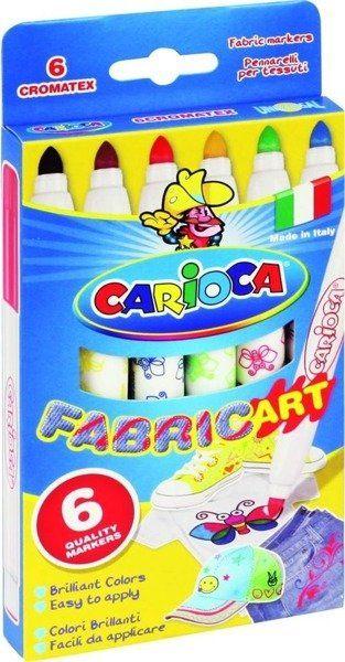 Pisaki do tkanin Cromatex 6 kolorów