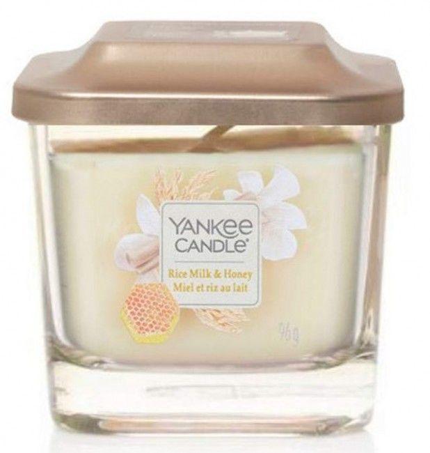 Yankee Candle Elevation Rice Milk & Honey świeczka zapachowa 96 g