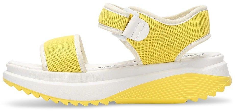Sandałki damskie Bello Star B188 Żółte