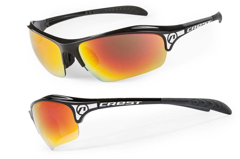 Okulary Accent Crest czarne 2 pary soczewek
