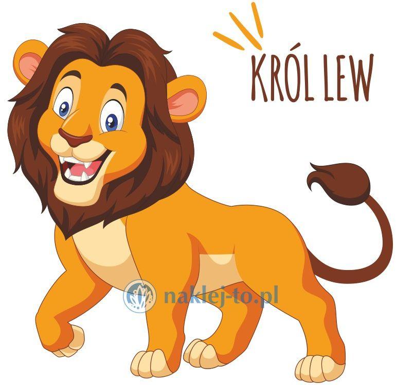 naklejka król lew naklejka na ścianę