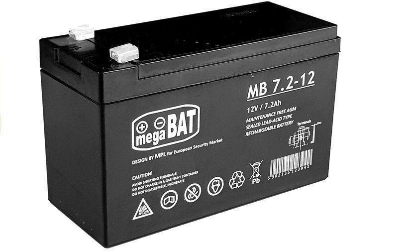 Akumulator żelowy do Auta na Akumulator 12V 7.2AH