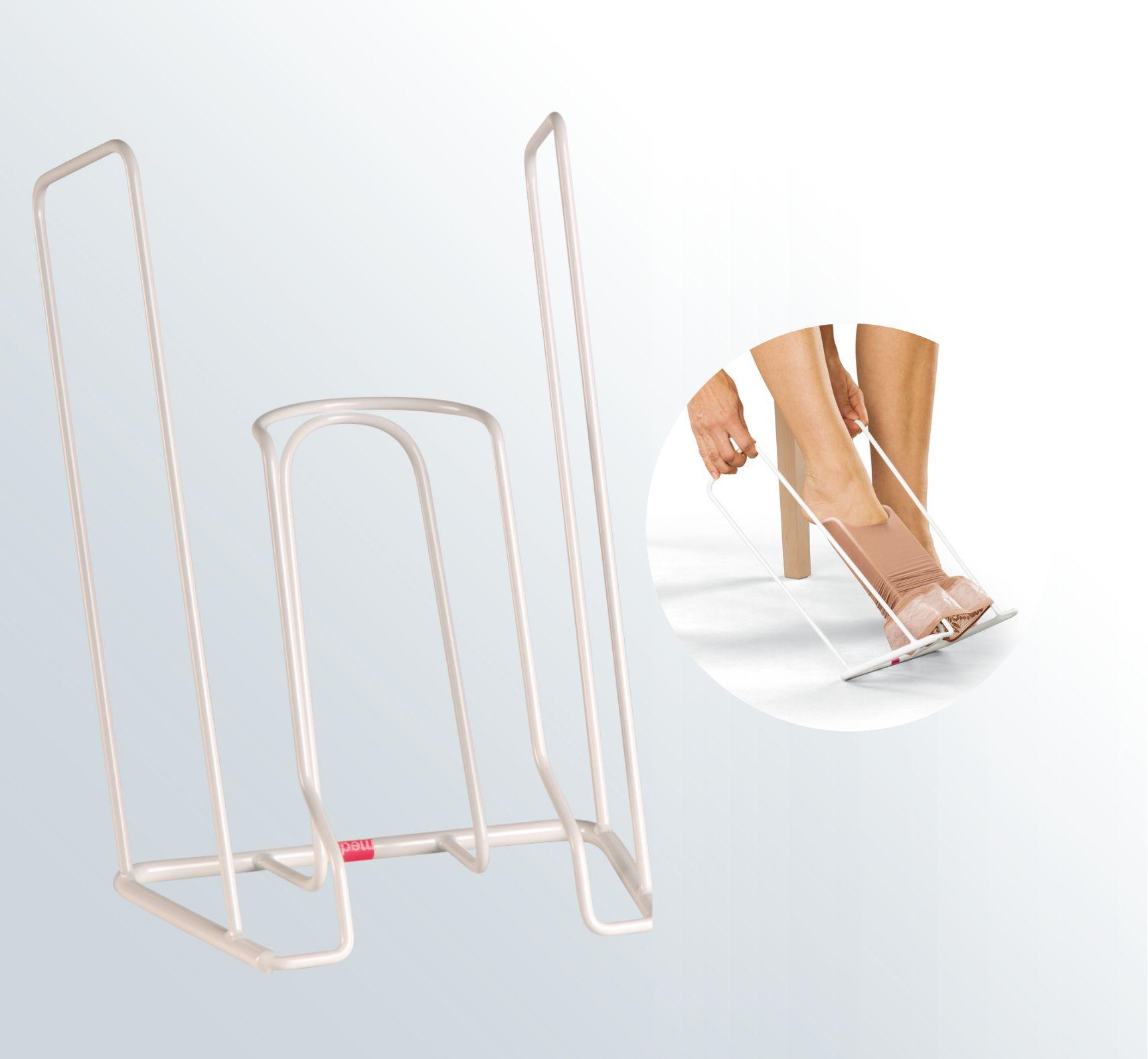 Poręczny przyrząd do ubierania produktów kompresyjnych - pomoc w nakładaniu pończoch uciskowych - (Medi Butler)