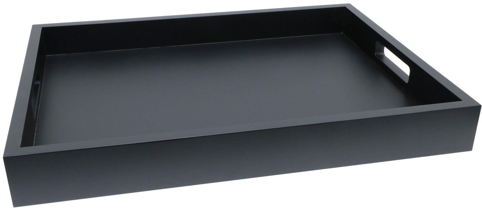 Deknudt Prezenty i gadżety, drewno, czarny, 42,5 x 32,5 x 5 cm