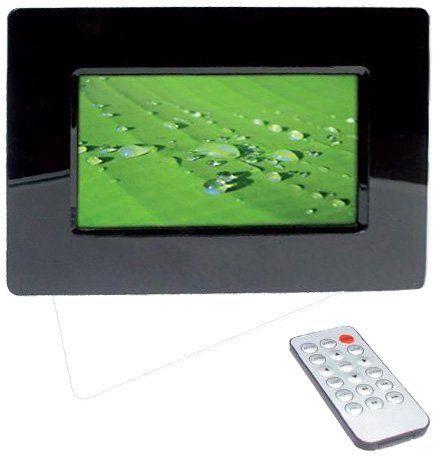 Technaxx P-Movie cyfrowa ramka na zdjęcia (wyświetlacz 17,8 cm) z zegarem i funkcją kalendarza