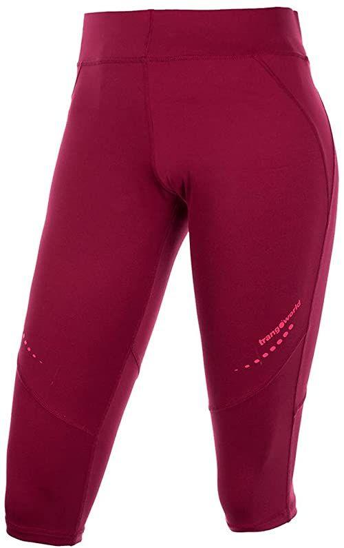 Trango  pc008030 spodnie Capri, damskie XL czerwone (remolacha)