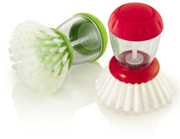 Szczoteczka do zmywania z dozownikiem płynu