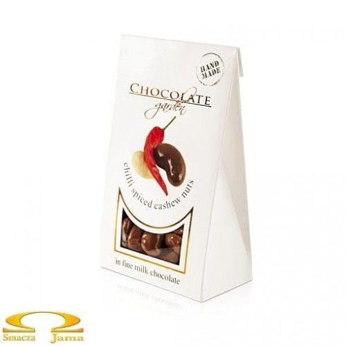 Orzechy nerkowca w czekoladzie mlecznej z chili 100g w kartoniku