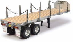 TAMIYA 56306 1:14 nakładka na łóżko płaskie, zestaw do montażu, ciężarówka RC, zdalnie sterowana, ciężarówka, zabawka konstrukcyjna, modelarstwo, majsterkowanie