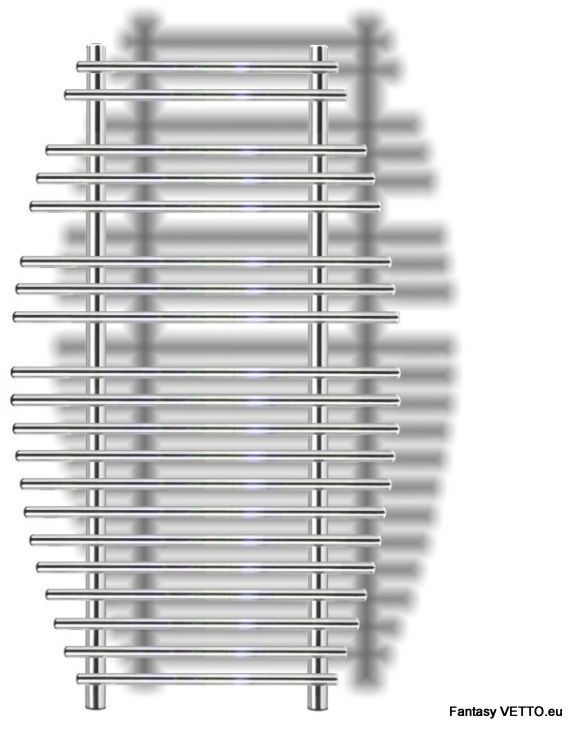 FANTASY 70X120cm, 510W, chrom, woda/230V grzejnik
