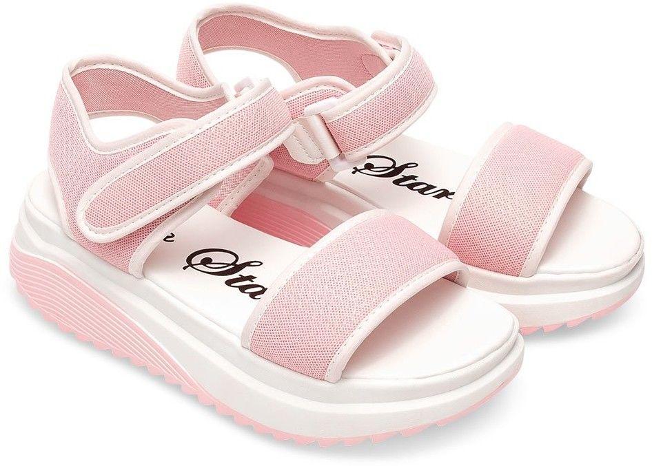 Sandałki damskie Bello Star B188 Różowe