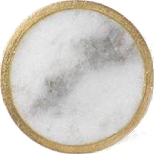 Wieszak stone mały marmur biały